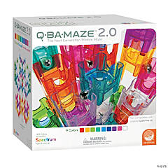 MindWare® Q-BA-MAZE™ 2.0: Spectrum Building Blocks Set