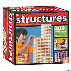 MindWare<sup>&#174;</sup> KEVA Structures 200 Plank Set