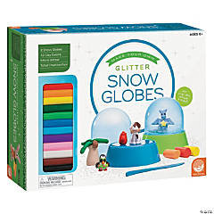 MindWare<sup>&#174;</sup> Make Your Own Glitter Snow Globes
