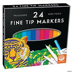 MindWare's Fine Tip Markers: Set of 24