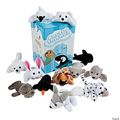 Mini Arctic Friends Bean Bag Stuffed Animals Assortment