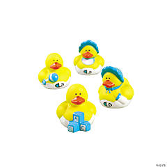 Mini Baby Boy Shower Rubber Duckies