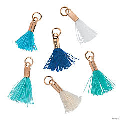 Mini Beach Tassel Charms
