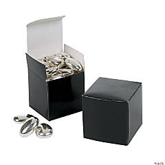 Mini Black Gift Boxes
