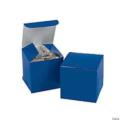 Mini Blue Gift Boxes
