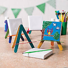 Mini Canvas Easel Idea