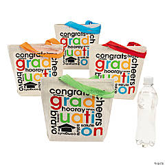 Mini Cheers to the Grad Canvas Tote Bags