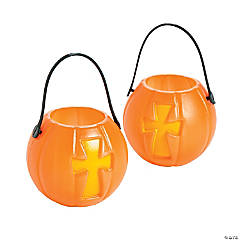 Mini Christian Pumpkin Favor Containers
