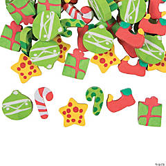 Mini Christmas Erasers