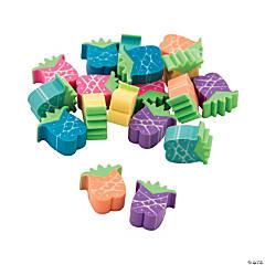 Mini Colorful Pineapple Erasers