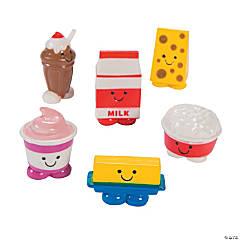 Mini Dairy Food Characters