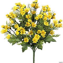 "Mini Daisy Bush X12 18""-Yellow"