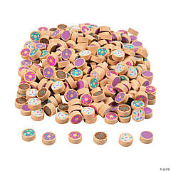 Mini Donut Eraser Assortment