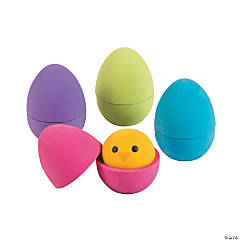 Mini Easter Egg Puzzle Erasers
