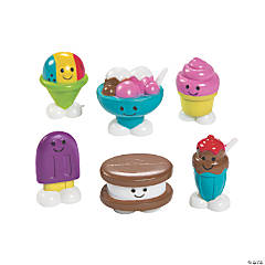 Mini Frozen Food Toy Characters
