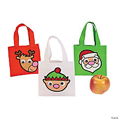 Mini Google Eye Christmas Totes