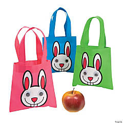 Mini Googly Eye Bunny Totes
