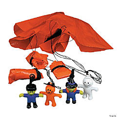 Mini Halloween Character Paratroopers