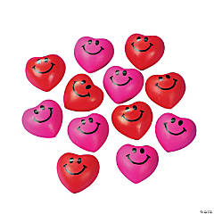 Mini Heart Shaped Stress Balls