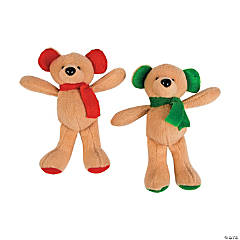 Mini Holiday Plush Bears