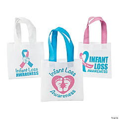 Mini Infant Loss Awareness Tote Bags