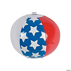 Mini Inflatable American Flag Beach Balls