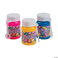 Mini Jelly Bean Bubble Bottles