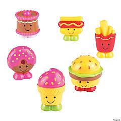 Mini Junk Food Characters