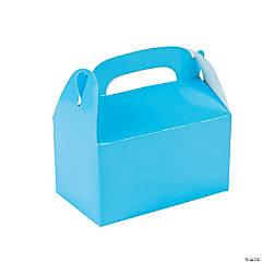 Mini Light Blue Favor Boxes