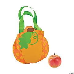 Mini Lil' Pumpkin Party Tote Bags