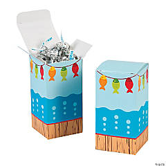 Mini Little Fisherman Favor Boxes