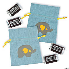 Mini Little Peanut Canvas Drawstring Bags