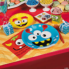 Mini Monster Baby Shower Party Supplies