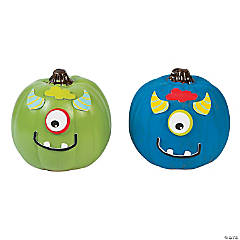 Mini Monster Pumpkin Decorating Craft Kit