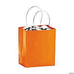 Mini Orange Gift Bags