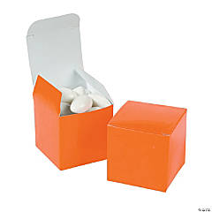 Mini Orange Gift Boxes