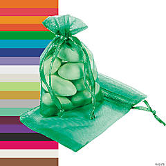 Mini Organza Drawstring Treat Bags