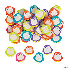 Mini Penguin Eraser Assortment