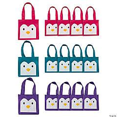 Mini Penguin Tote Bags