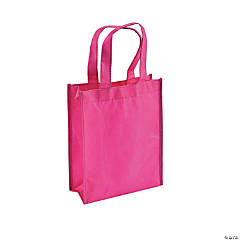 Mini Pink Shopper Tote Bags