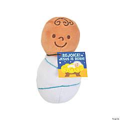 Mini Plush Baby Jesus Handouts with Card