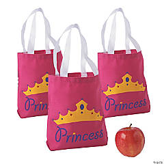 Mini Princess Canvas Tote Bags
