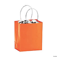 Mini Pumpkin Gift Bags