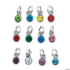 Mini Rhinestone Dangle Charms