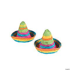 Mini Sombrero Piñatas