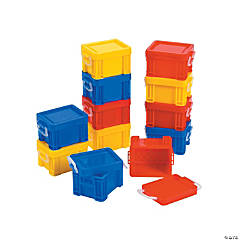 Mini Stackable Classroom Storage Tubs