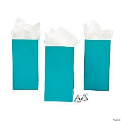 Mini Turquoise Treat Bags