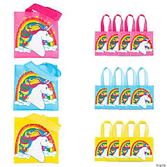 Mini Unicorn Tote Bags