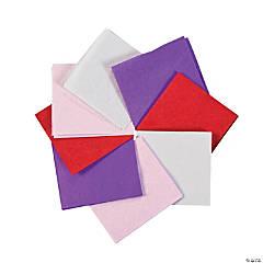Mini Valentine Tissue Squares