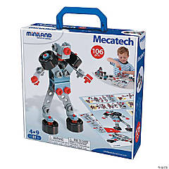 Miniland Mecatech Game, 106 Pieces